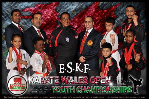 Winners in Wales - Team Photo