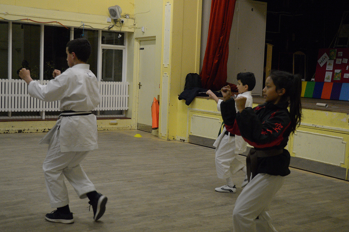 Fitness training at Forest Gate Dojo