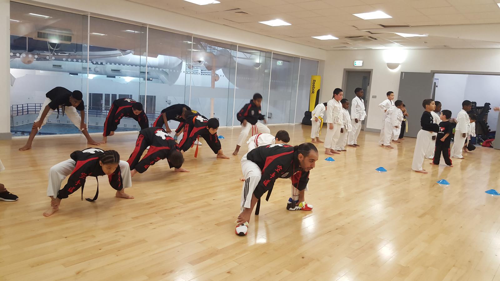 Fitness training at Wavelengths