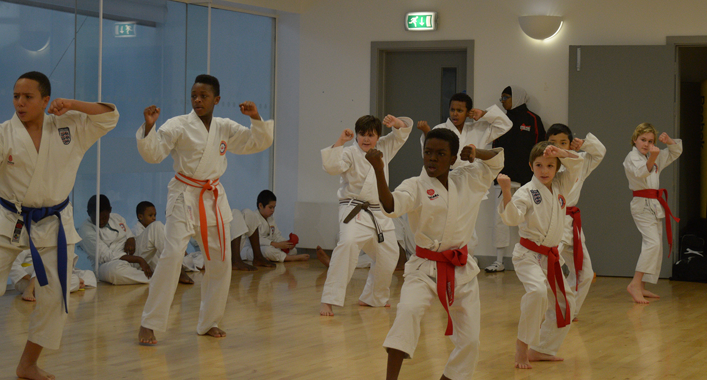 Lower Belts Grading at Wavelengths Dojo