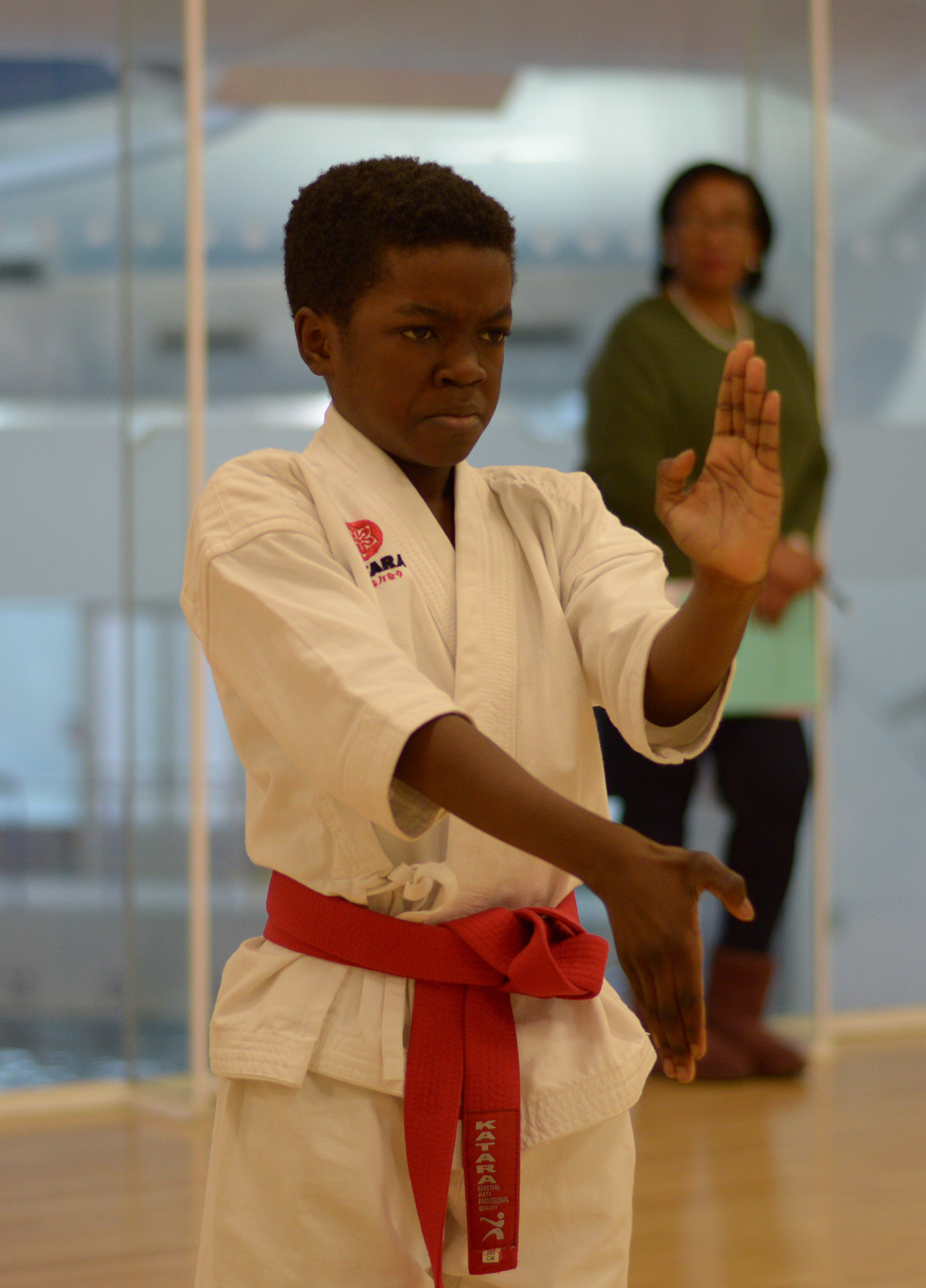 Lower Belt Grading at Wavelengths Dojo